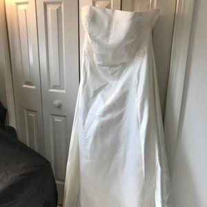 Dresses & Skirts - PLUS SIZE SHORT BRIDAL GOWN